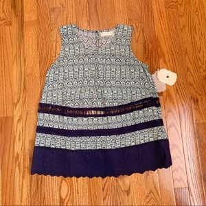 NWT- Alter'd State Mint/Navy Tank Top Size S
